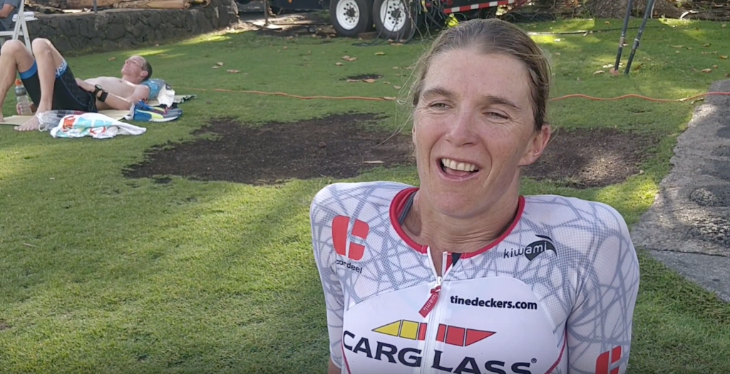 1 Tine Deckers tevreden met goeie race in Hawaii YouTube
