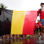 111 Team Belgium in The Nations Parade in Ironman Hawaii 2018 by Jim De Sitter YouTube