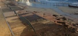 'Enorme storm verwoest wisselzone ETU Multisports European Championships Festival'