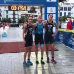 Alexandra Tondeur Europees kampioene halve triatlon in Ibiza (foto: Multisport Festival Ibiza)
