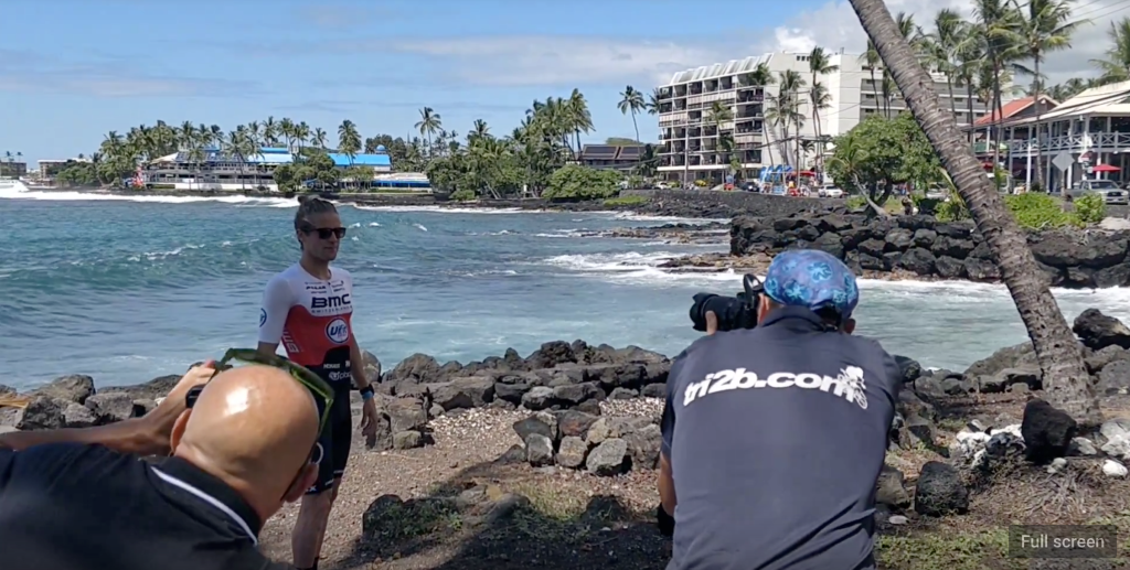 Behind The Scenes BMC Vifitsport shoot Ironman Hawaii 2018 YouTube
