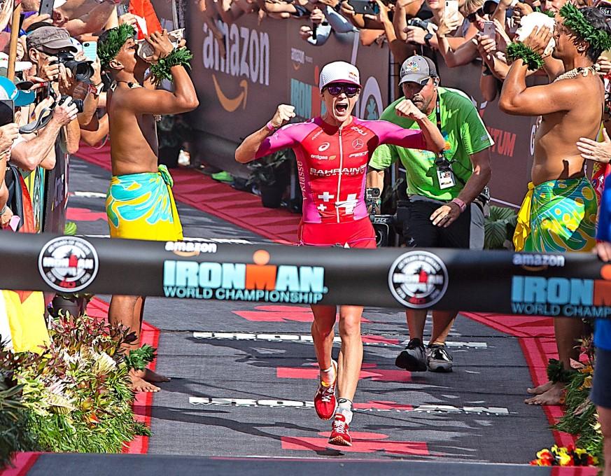 Daniela Ryf opnieuw wereldkampioene in Hawaii (foto: Ingo Kutsche)
