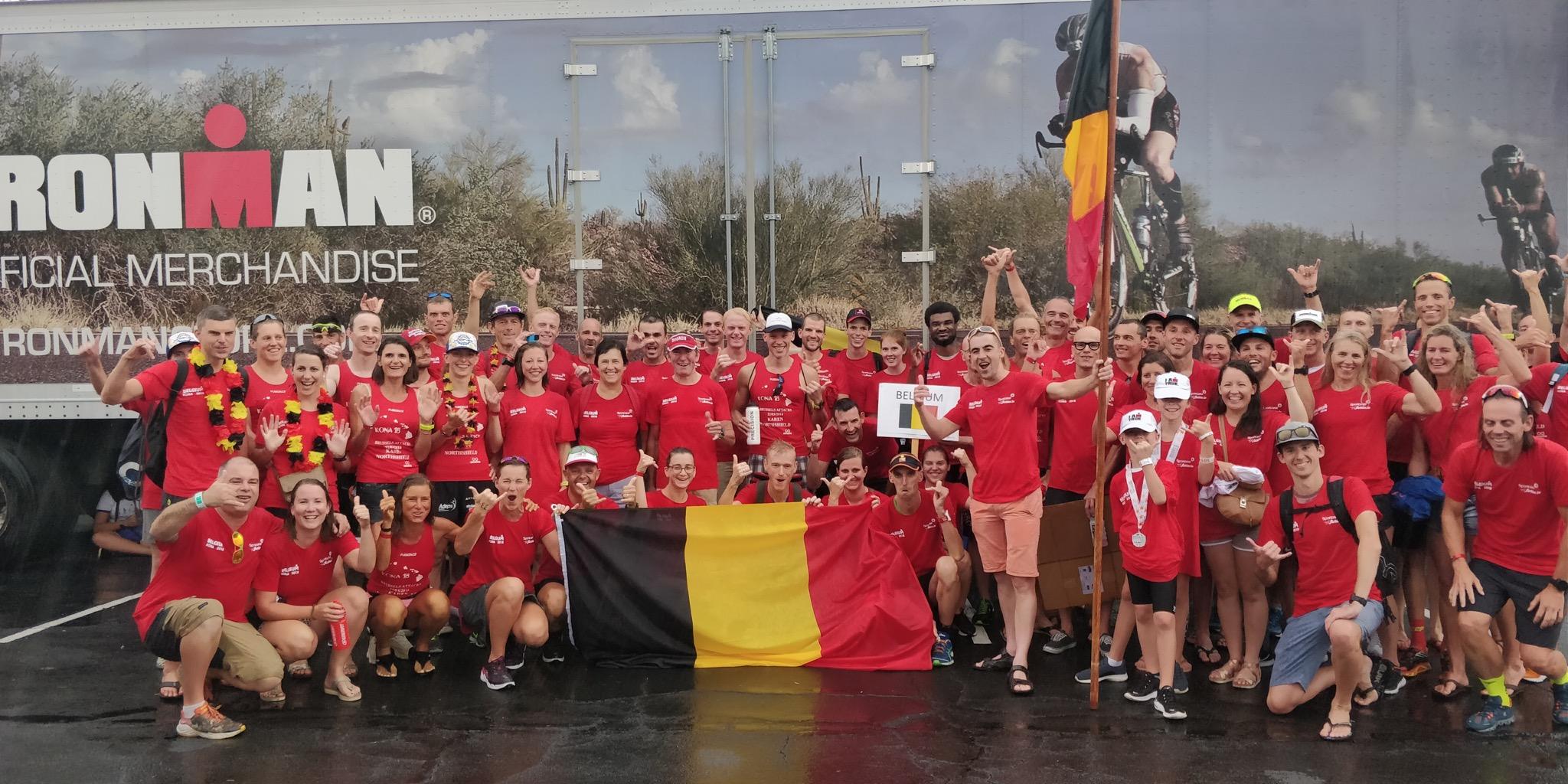 Team Belgium Kona 2018 (foto: 3athlon.be/Hans Cleemput)