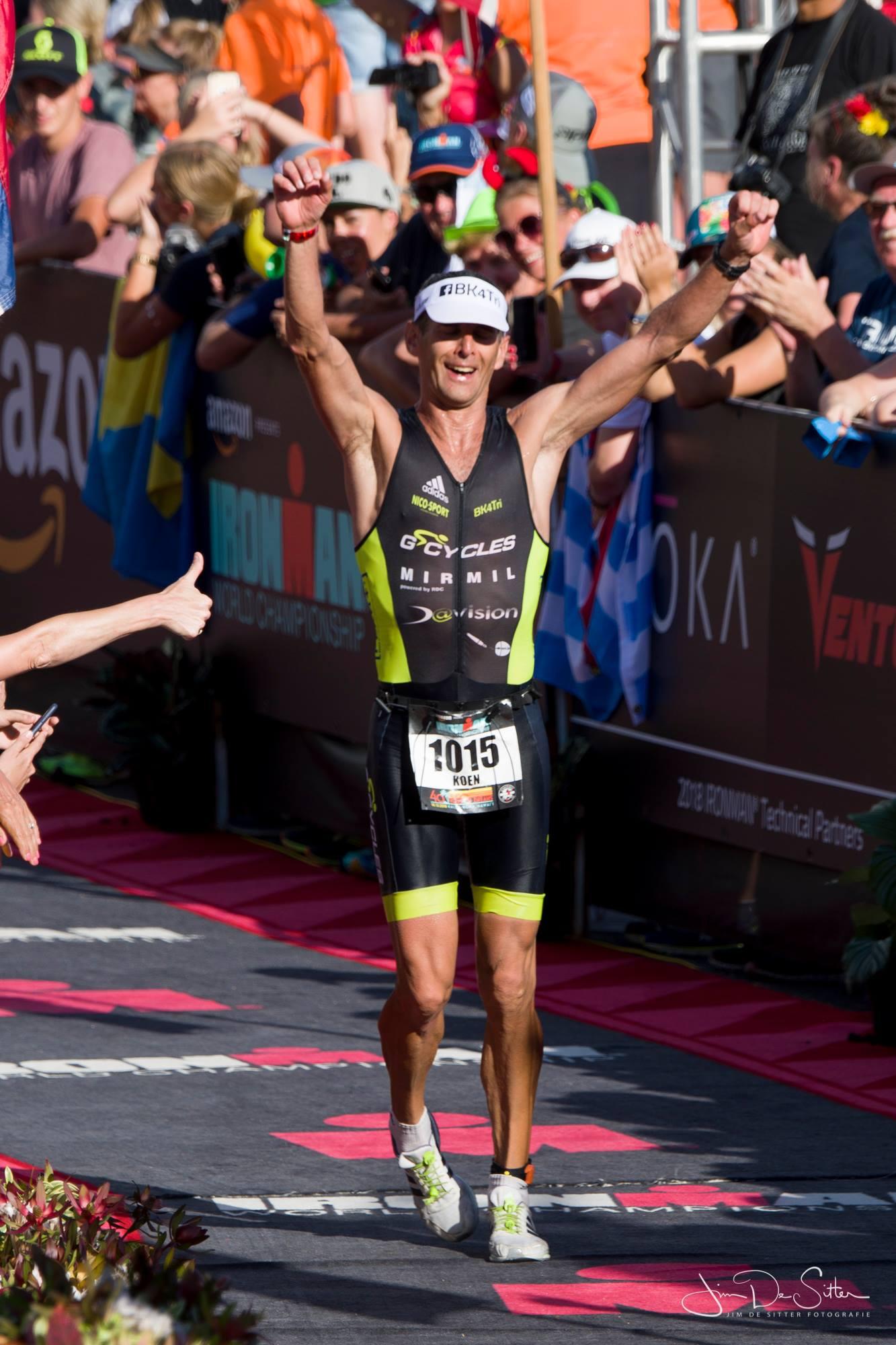 Koen Van Rie wereldkampioen M45 in Hawaii (foto: 3athlon.be/Jim De Sitter)