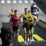 Marten Van Riel mee aan kop in Mallorca (Photo by Tom Shaw/Superleague Triathlon)