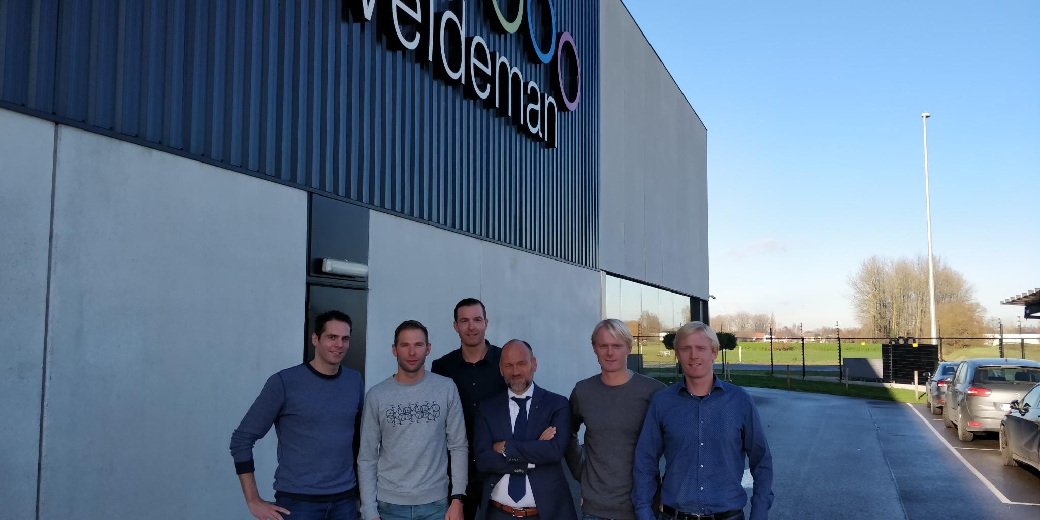 Toon, Bart, Gert, Michaël, Stefaan en Stijn (foto: 3athlon.be)