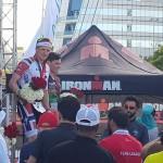 Blummenfelt bovenaan een Noors podium (foto: Ironman)