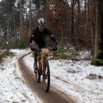 Seppe Odeyn in de sneeuw (foto: 3athlon.be/Mario Vanacker)