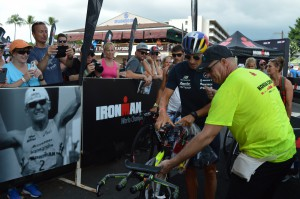 Sebastian Kienle check in