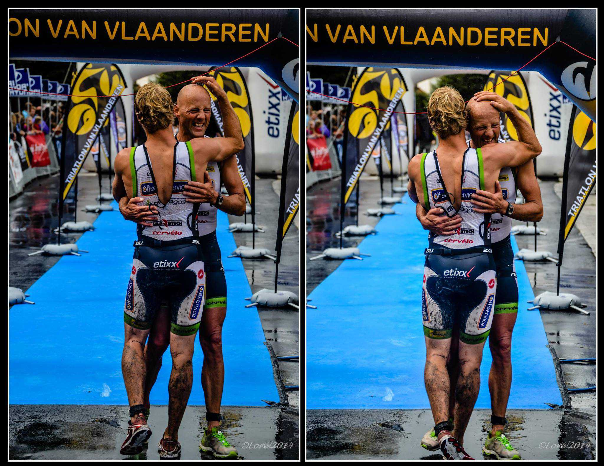Triatlon is emotie 1: Gilles en Marc in Oudenaarde
