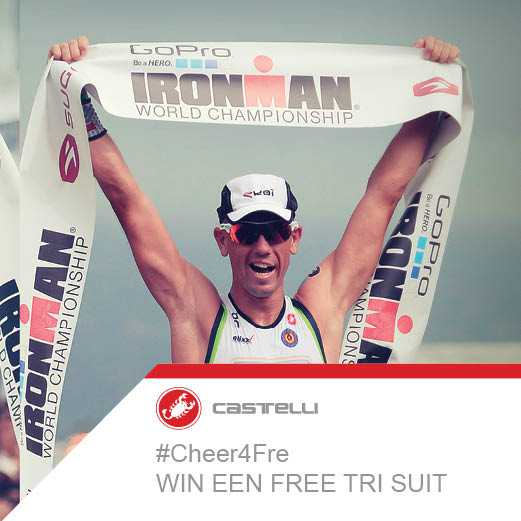 Cheer4Fre IM Hawaii: David Depuydt wint de Castelli Trisuit