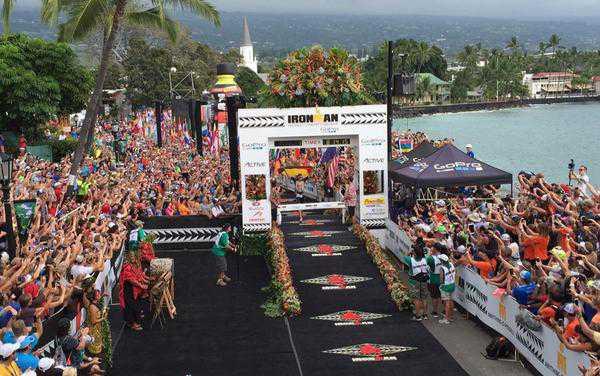 Sebastian Kienle verplettert tegenstand in Hawaii