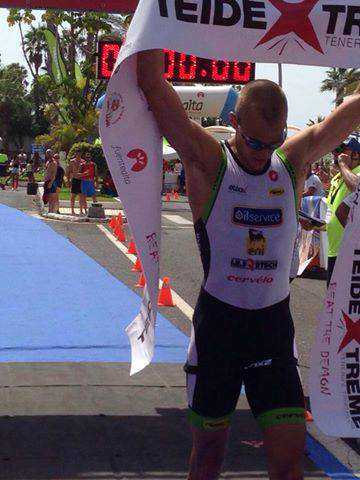 PJ Penne opnieuw op podium in Teide Xtreme