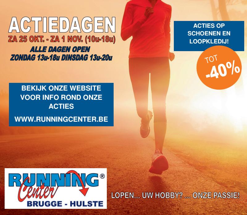 Actiedagen bij Running Center Brugge/Hulste