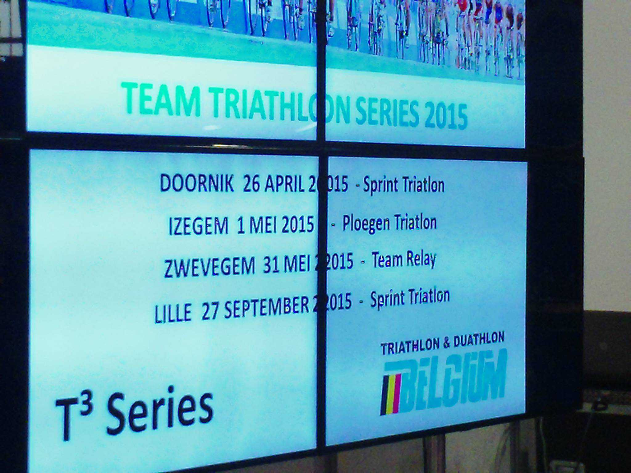 Van Doornik tot Lille: de T3 Triathlon Team Series