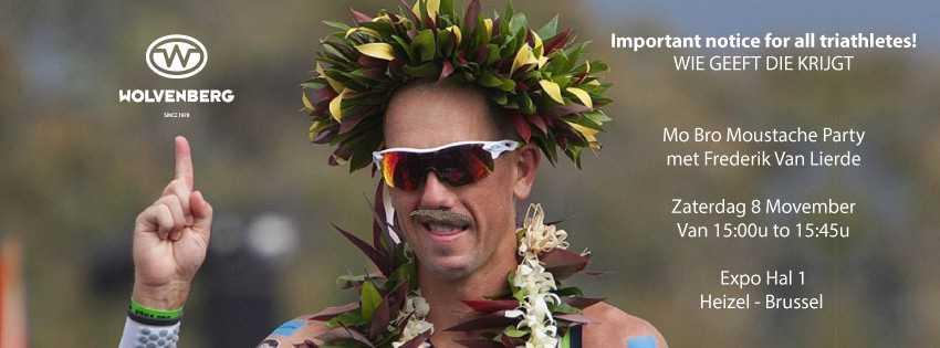 Mo Bro Moustache Party op Triathlon World