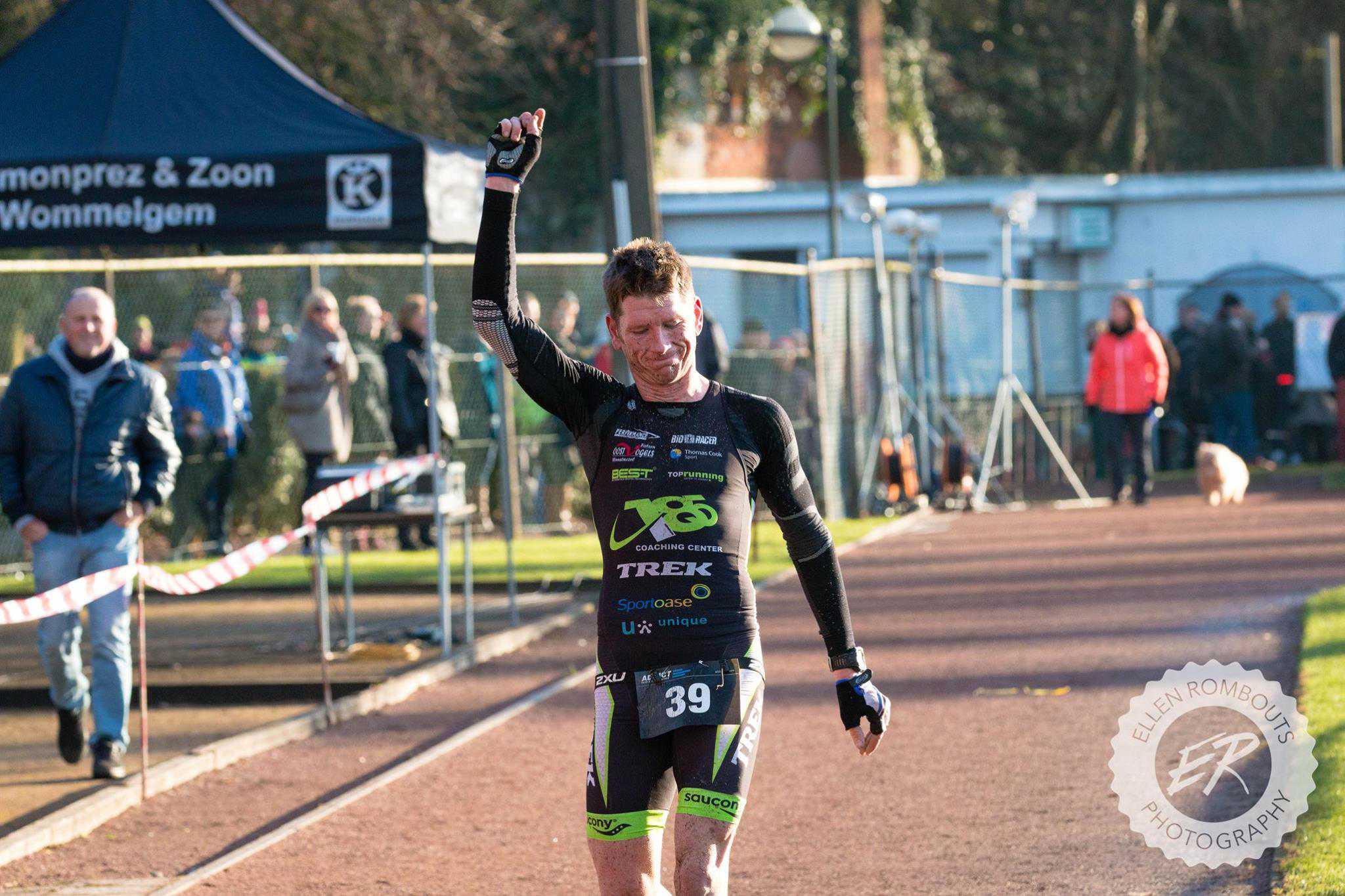 Wielrenner maakt het triatleten lastig in Wommelgem