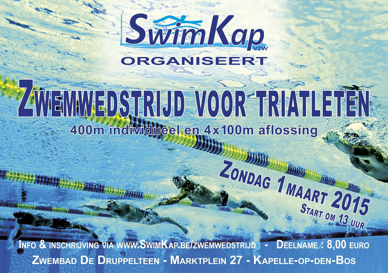 Zwemwedstrijd voor triatleten
