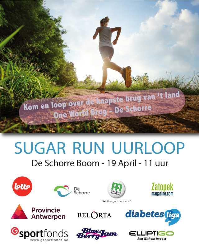 (Opnieuw) Inschrijven voor de Sugar Run