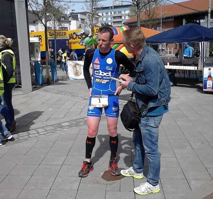 Jochen Neyrinck wint in Eschweiler