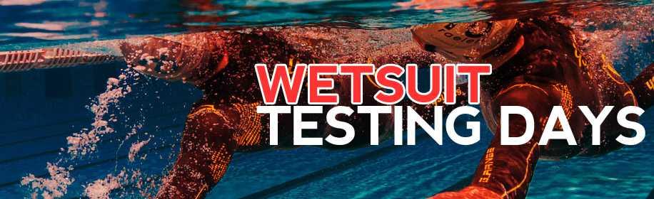 Wetsuit testdagen van Triathlonshop.be
