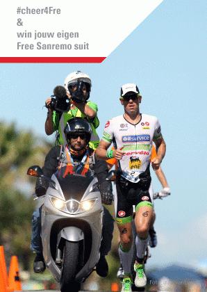 Cheer4Fre op de Antwerp Triatlon en win een Castelli trisuit