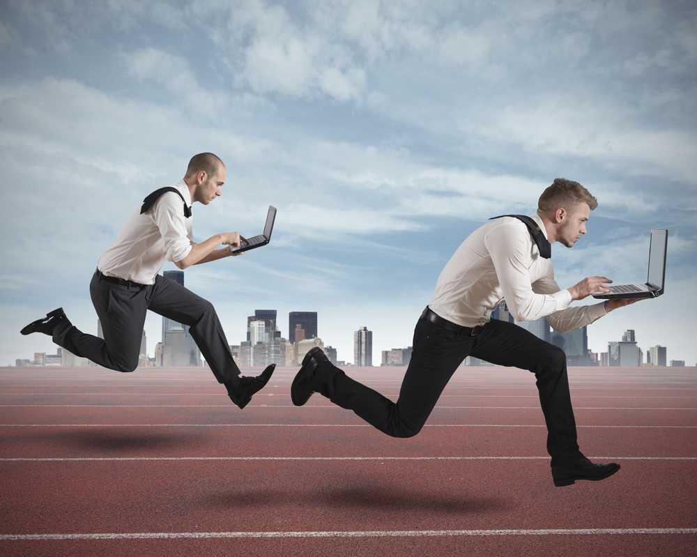 Druk, druk, druk… werken, trainen… en eten?