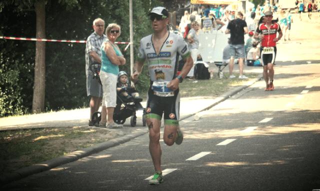 Korte afstand ligt Frederik Van Lierde nog steeds