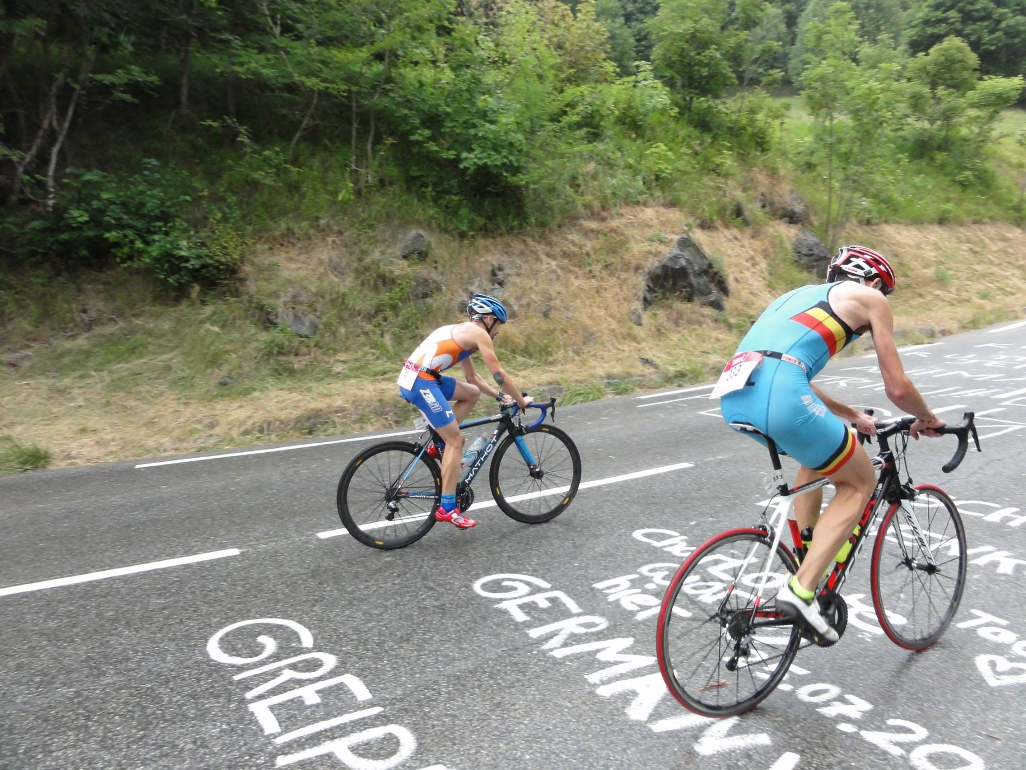 Jakke Petrol vijfde in Alpe d'Huez duatlon