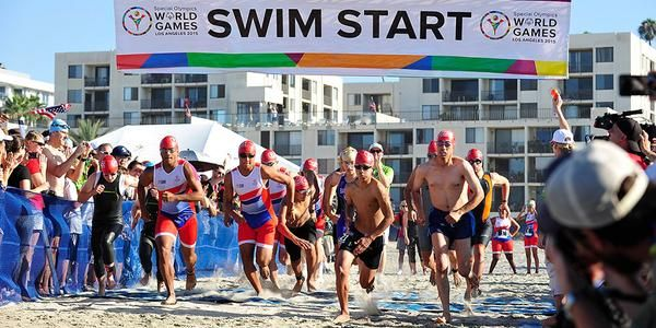 Eerste triatlonmedailles op Special Olympics