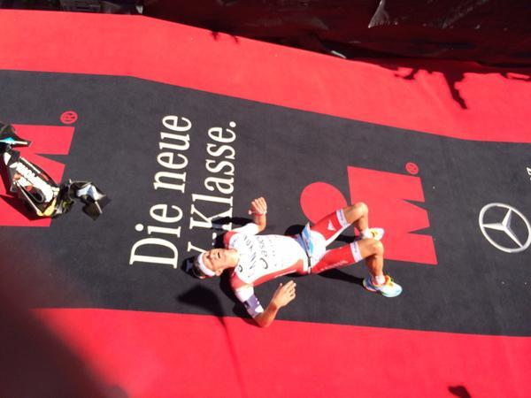 Aernouts 4de op WK 70.3 Ironman