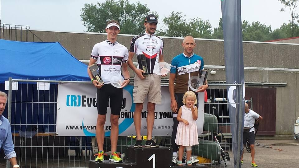 Lukas Bosmans opnieuw aan de winst in Willebroek