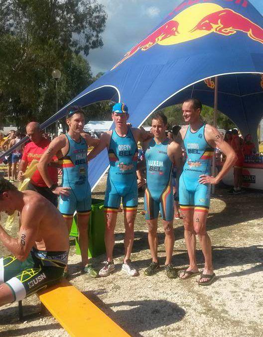 Sterk Belgisch collectief op WK cross triatlon