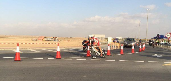 Bart Aernouts sprint naar brons in Dubai