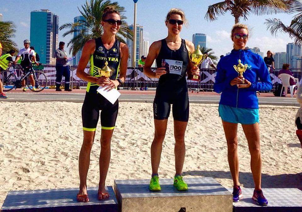 Eerste Belgische triatlonzege in Dubai