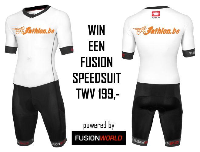 En de winnaar van de 3athlon.be Fusion Speed Suit is?