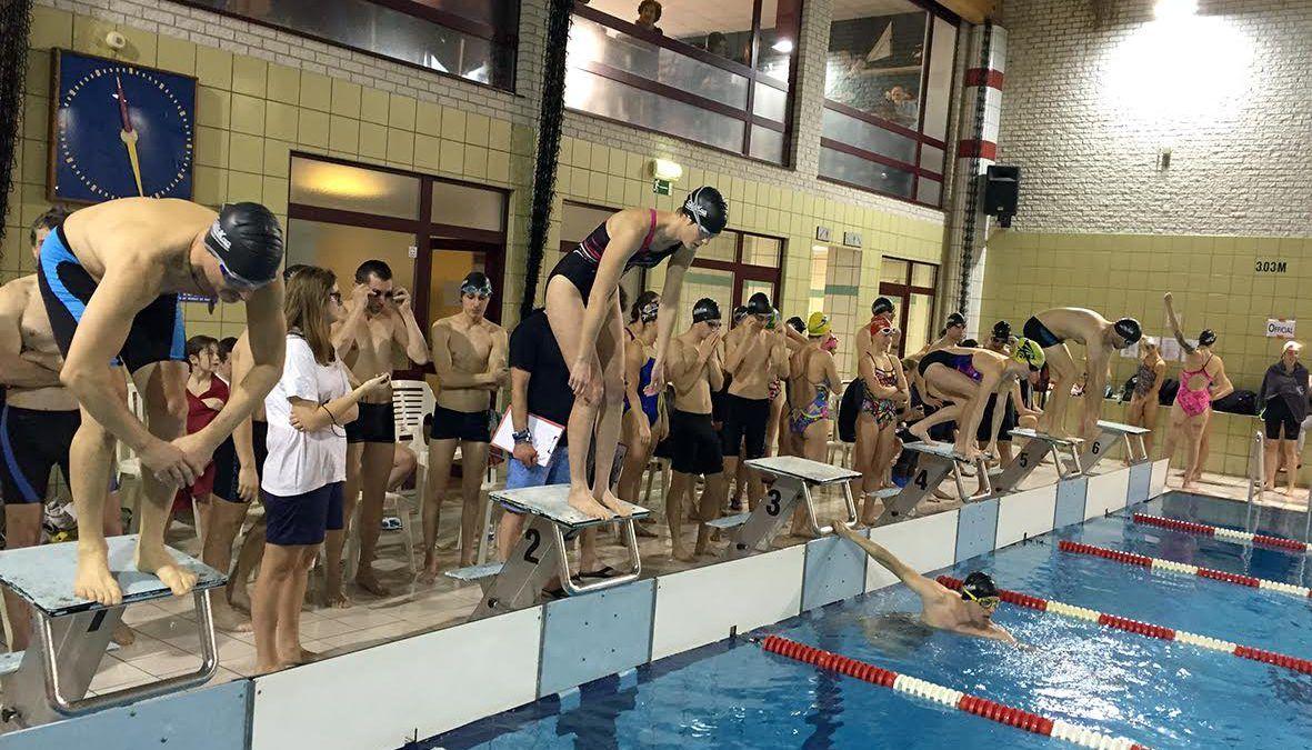 Zwemwedstrijden voor triatleten