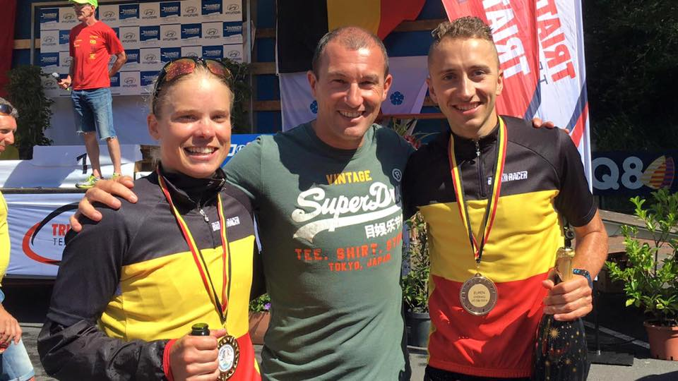 BK triatlon Eupen in slotkilometer beslist