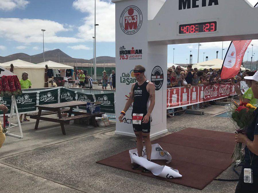 Heemeryck wint Belgisch getinte 70.3 Ironman Lanzarote