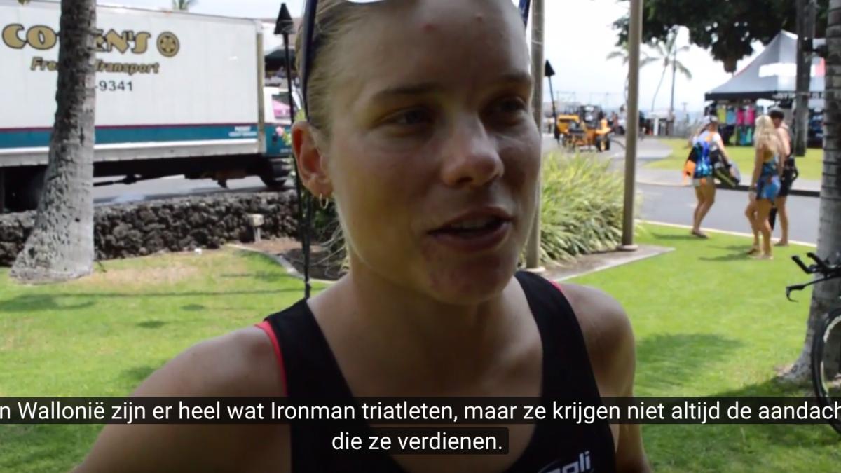 """""""Met mijn Ironman bijdragen aan populariteit"""" – Alexandra Tondeur"""