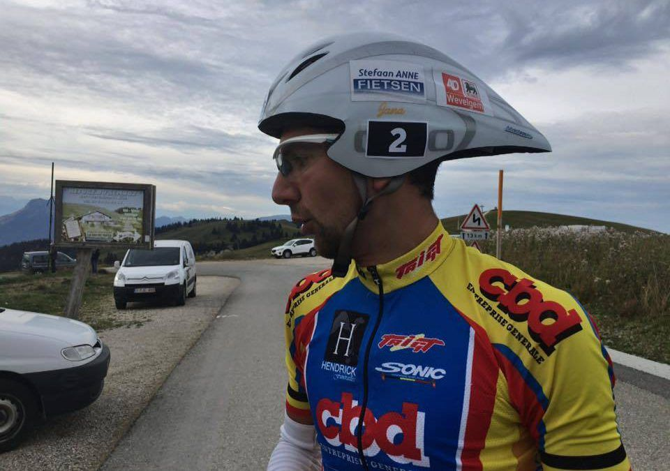 Holvoet en Diepart op podium Alpsman