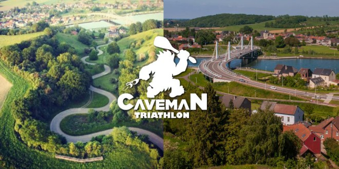 Nieuwe 1/3de Triatlon in Limburg: de Caveman Triathlon