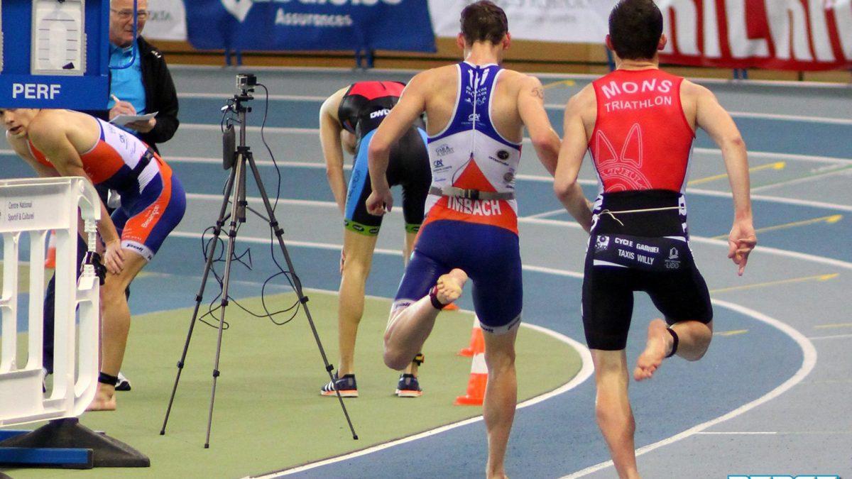 Halve finales top, finale minder in Luxemburgse aquathlon