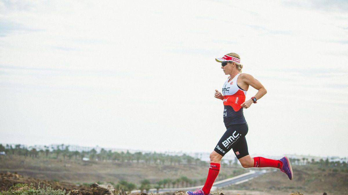 Net bevallen triatlete moet dopingtest ondergaan