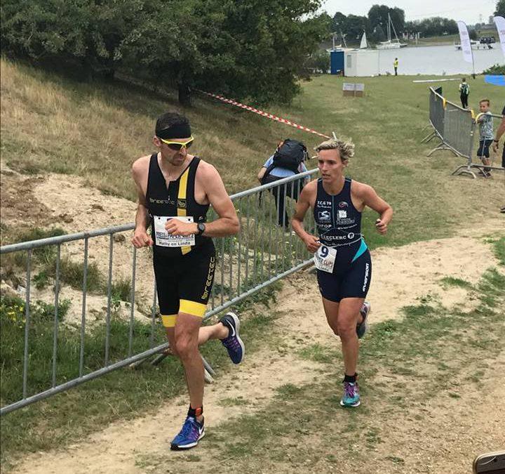 Celine Rositano wint bij eenmalige triatlon comeback