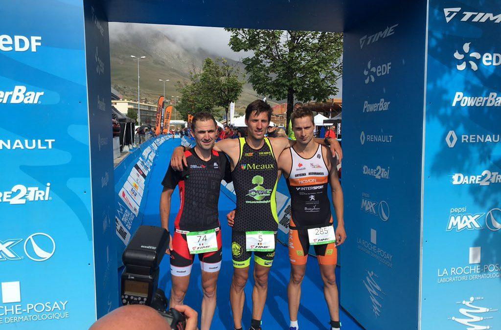 Jan Petralia wint Alpe d'Huez duatlon