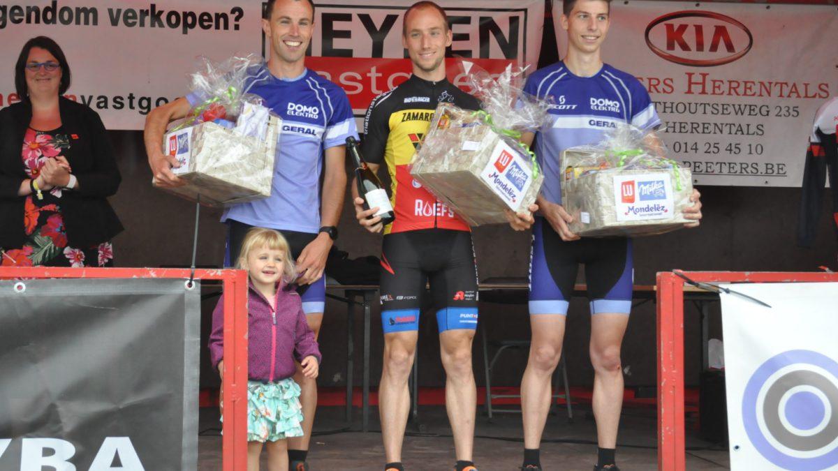 Belgisch kampioen wint spannende Herentals Duatlont
