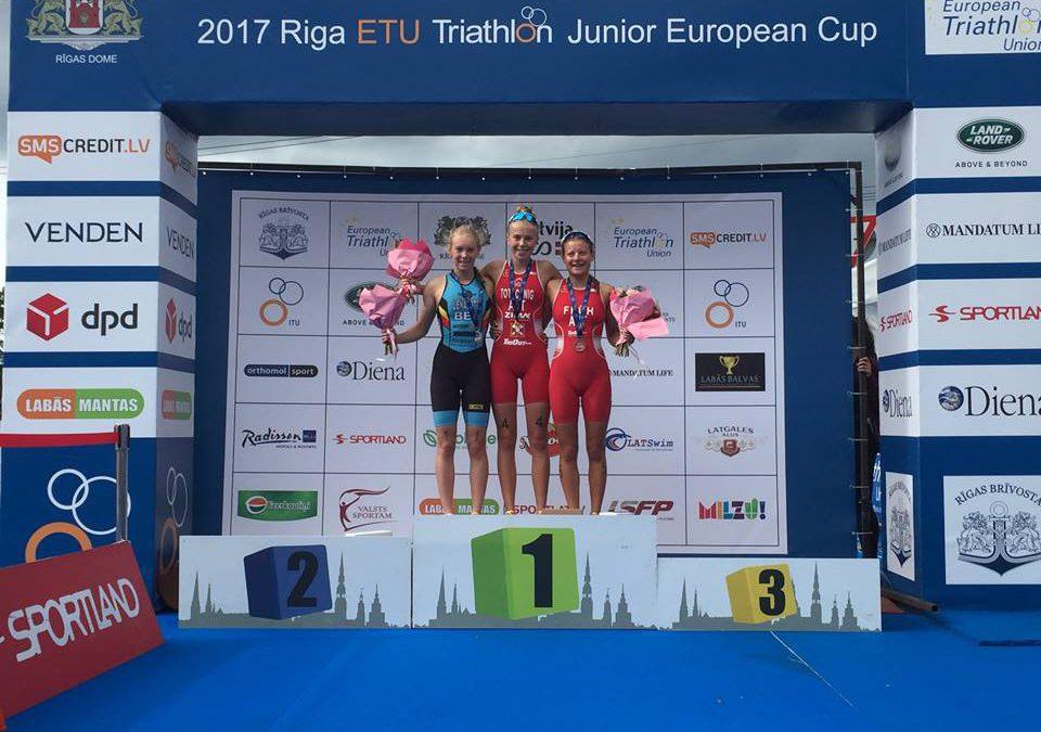 Kiara Lenaertz bijna aan de winst in ETU Junior Cup Riga