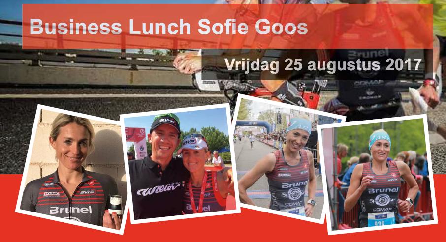 Wie mag er met Sofie Goos gaan eten?