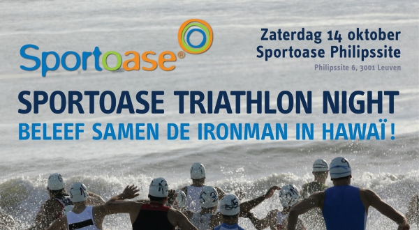 Save the date: beleef Hawaii live mee in Sportoase